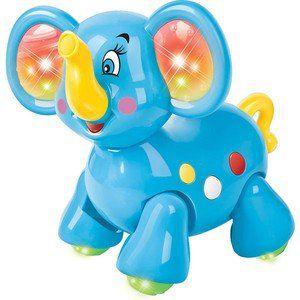 Elefantinho Com Luz E Som R.PB0148 Ploft