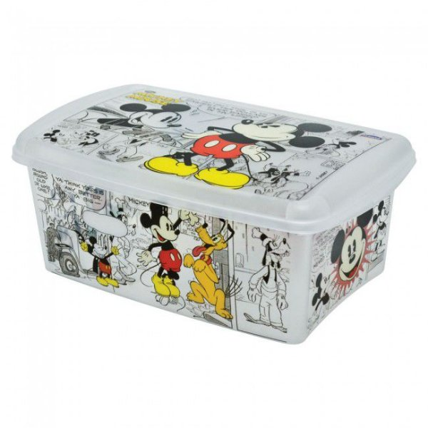 Caixa Organizadora Decora Mickey 4,2 Litros R.7106 Plasutil