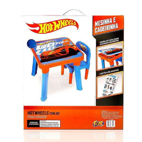 Mesa e Cadeira Hot Wheels HW6020 Fun