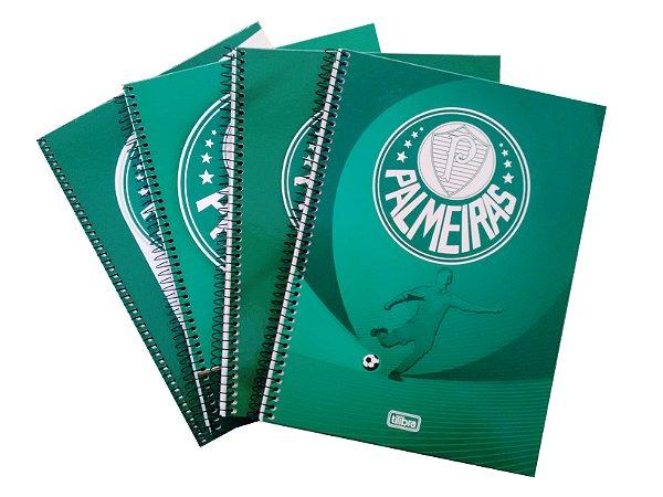 Caderno Universitário 1x1 Palmeiras Tilibra 111252