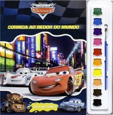 Livro Para Colorir Carros 2 O Mundo dos Carros DCL