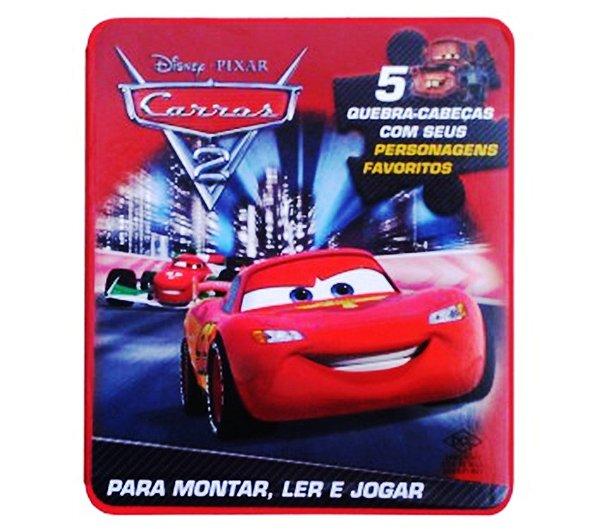 Quebra Cabeça EVA Carros 2 Disney R.2748 DCL