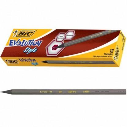 Lápis Grafite Evolution Style Caixa Com 12 Unidades Bic