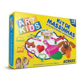 Kit De Massinha De Modelar 4 450 Gramas Acrilex 40004