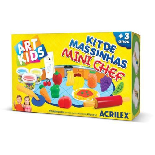 Kit Massinhas Mini Chef Acrilex 40008