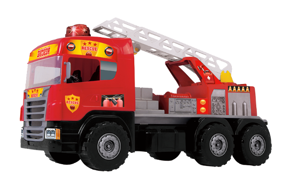 Caminhão Super Bombeiro Sirene e Luz Magic Toys 5056