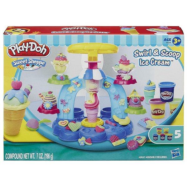 Play Doh Sorveteria Divertida B0306 Hasbro
