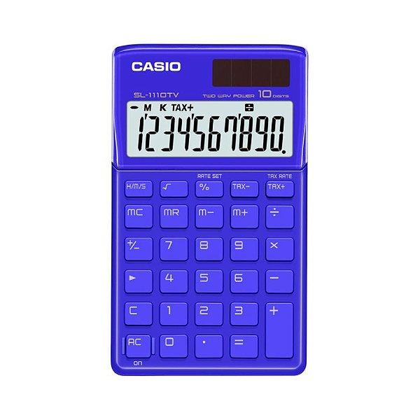 Calculadora De Bolso Azul Casio SL-1110TV-BU