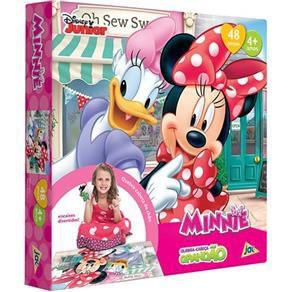 Quebra Cabeça Minnie Grandão 48 peças Toyster 2206