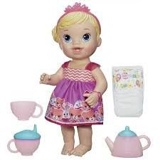 Boneca Baby Alive Chazinho Magico Loira A9288 Hasbro