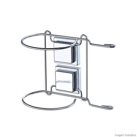 Suporte Para Secador De Cabelo Fixação Por Sucção R.1308 arthi