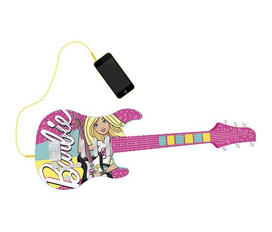 Guitarra Infantil Barbie Fabuloso 8006-9 Fun