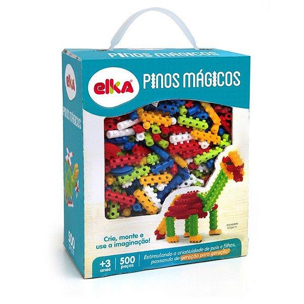 Pinos Magicos 500 Peças R.939 Elka