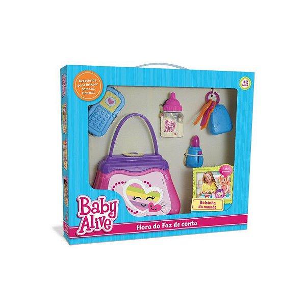 Hora do Faz de Conta Baby Alive - Bolsinha da Mamãe R.987 Elka