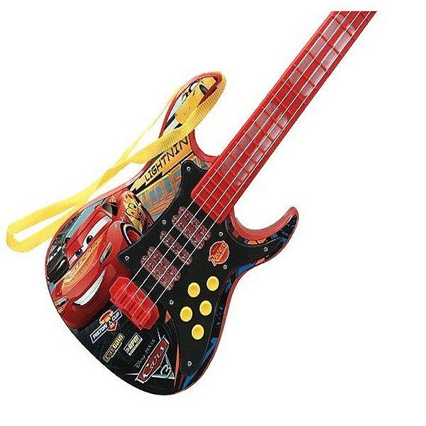 Guitarra Infantil Eletronica Carros R.30568 Toyng