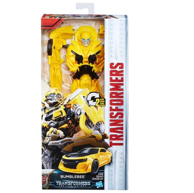 Boneco Transformers Titan Changers Bumblebee C0885 Hasbro