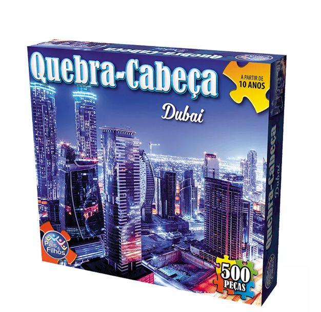 Quebra Cabeca 500 Pecas Dubai R.2937 Pais e Filhos
