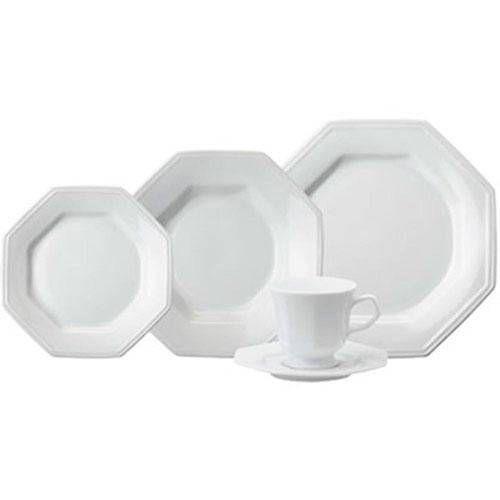 Aparelho De Jantar 30 Peças Prisma Branco R.077.003.058 Schmidt
