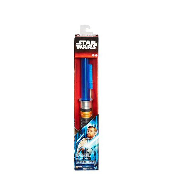 Espada Sabre De Lux Eletrônico Star Wars EPVII Obi- Wan Kenobi B2921/B2919 Hasbro
