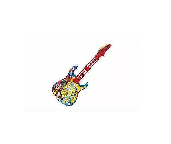 Guitarra Infantil Eletronica Patrulha Canina R.32460 Toyng