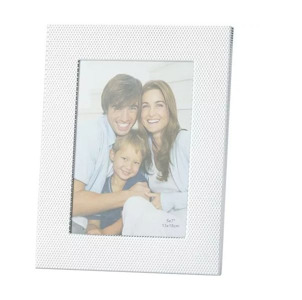 Porta Retrato Branco em Aluminio 10X15 Balls 3068 Lyor