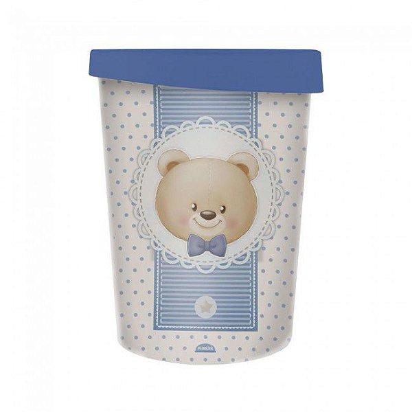 Lixeira Urso Azul 5,5 Litros 8440 Plasutil