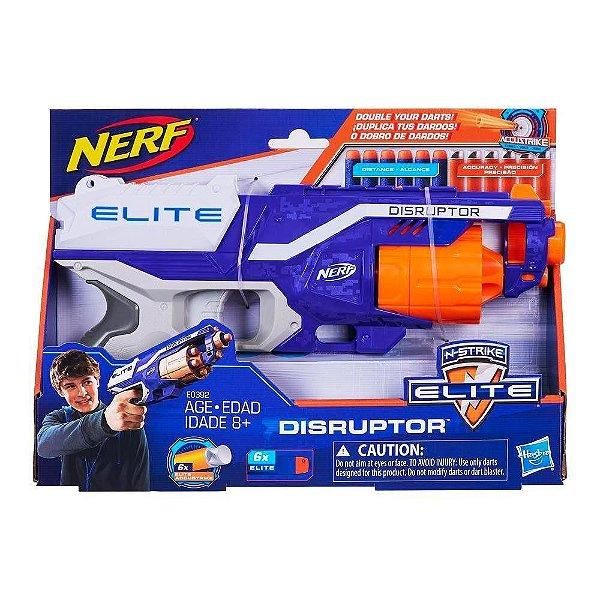 Lançador Nerf Accustrike Disruptor E0392 Hasbro