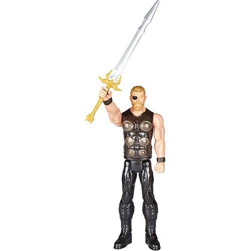 Boneco Avengers Titan Thor E1424 Hasbro