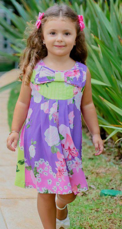 VESTIDO INFANTIL BLESSINHA NOELLE   RIVIERA FRANCESA Código: KM141435