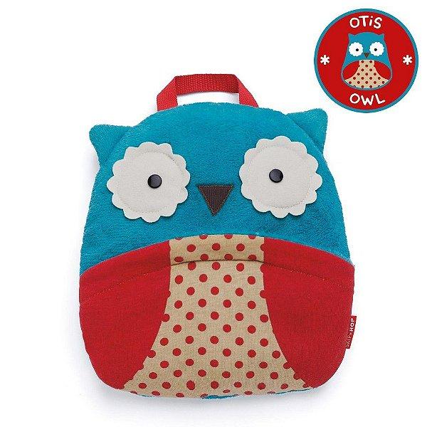 Cobertor Skip Hop Linha Zoo Tema Coruja Otis Owl