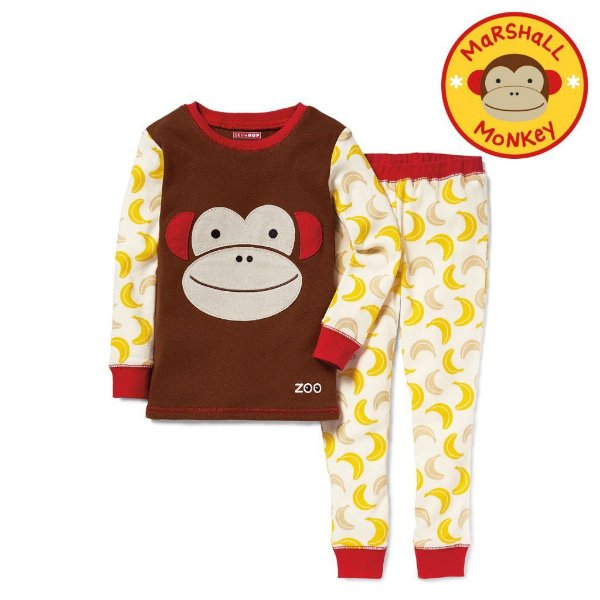 Pijama Linha Zoo Skip Hop Zoojamas Tema Macaco Marshal Monkey