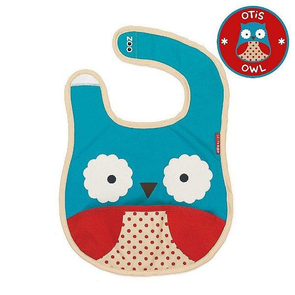 Babador Impermeável Skip Hop Linha Zoo Tema Coruja Otis Owl