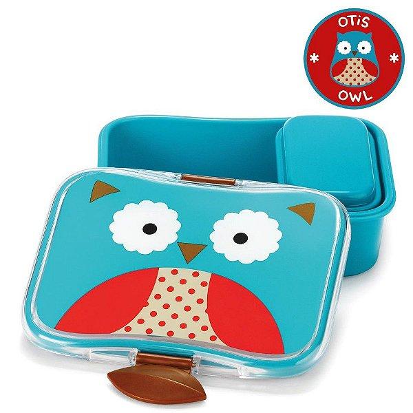 Kit Lanche Skip Hop Zoo Coruja Otis Owl