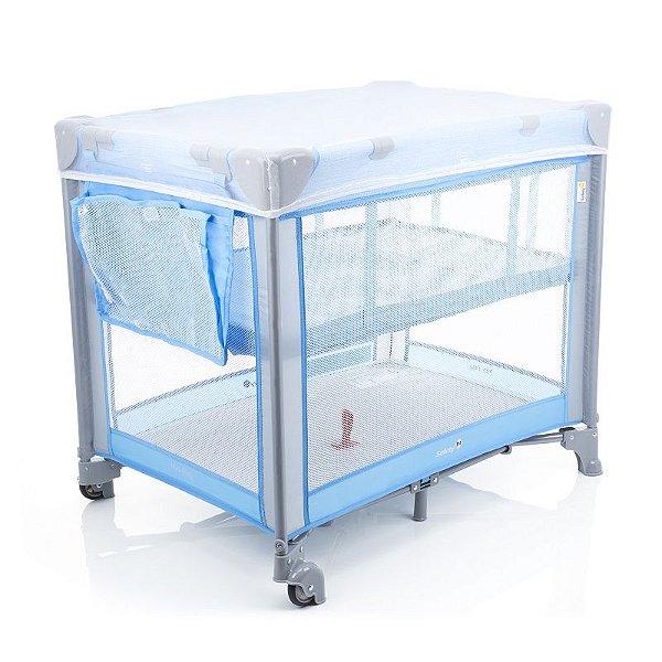 Berço Portátil Mini Play Safety 1st Pop Blue Azul