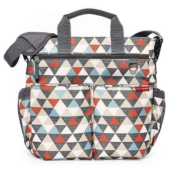 Bolsa Maternidade Diaper Bag Duo Signature Triangles Skip Hop