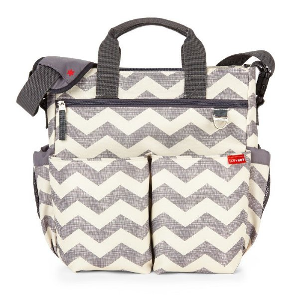 Bolsa Maternidade Diaper Bag Duo Signature Chevron Skip Hop