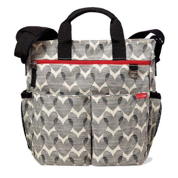Bolsa Maternidade Diaper Bag Duo Signature Hearts Skip Hop