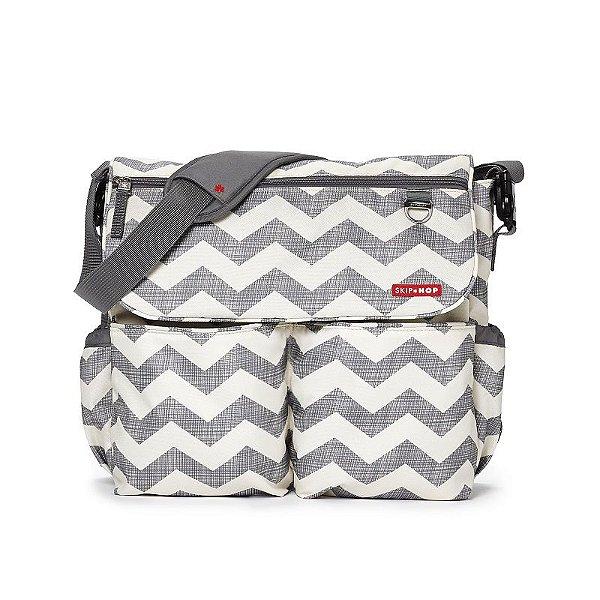 Bolsa Maternidade Skip Hop Diaper Bag Dash Signature Chevron