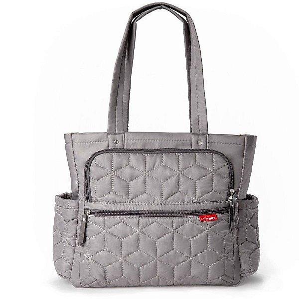 Bolsa Maternidade Skip Hop Diaper Bag Forma Pack & Go Grey Cinza