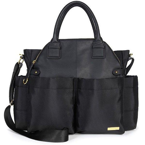Bolsa Maternidade Skip Hop Diaper Bag Chelsea Black Preta