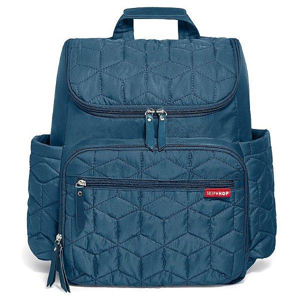 Bolsa Maternidade Skip Hop Diaper Bag Forma BackPack Peacock