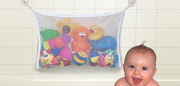 Sacola Organizadora para Brinquedos de Banheira