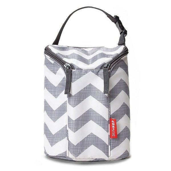 Bolsa Térmica para Mamadeira Double Bottle Bag Skip Hop Chevron