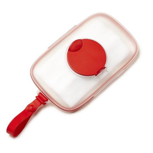 Porta Lenços Umedecidos Wipes Case Skip Hop Red Vermelho