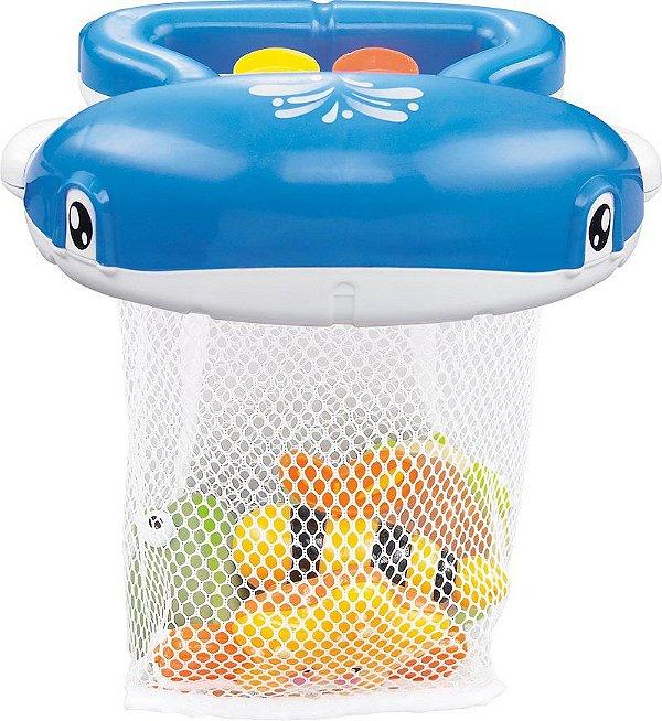 Brinquedo para Banho Divertido  Pura Diversão Baleia