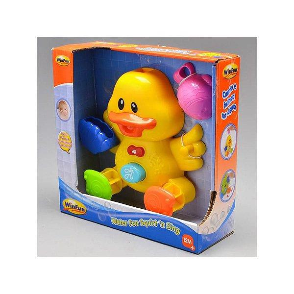 Brinquedo para Banho Patinho com Peixinho Winfun