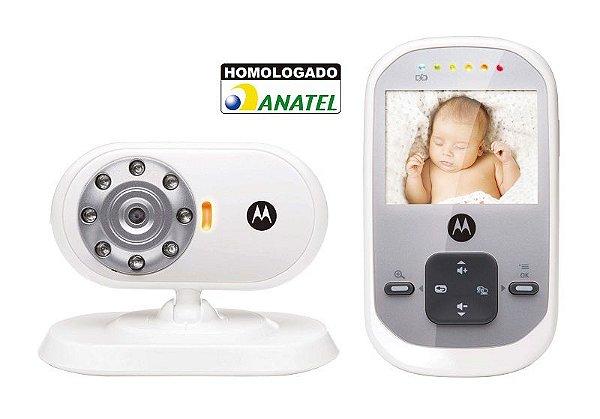 Baba Eletrônica Bebê com Monitor MBP622 Motorola com Visão Noturna