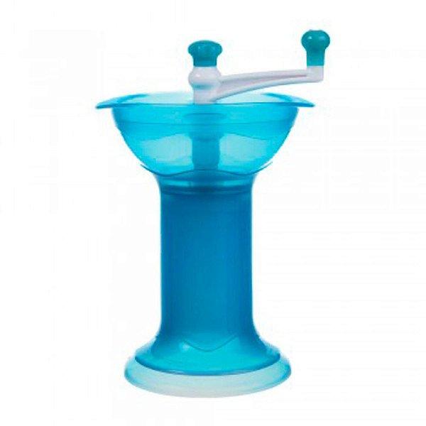 Triturador de Alimentos Manual Munchkin Azul