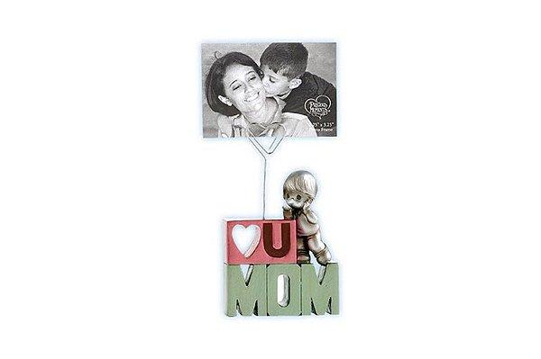 Porta Foto LOVE U MOM menino