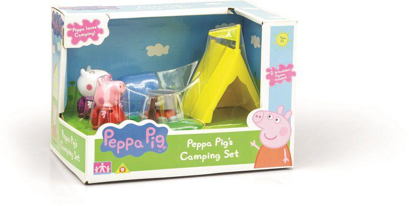 Peppa Pig Camping Com Peppa E Ovelhinha Suzy - DTC